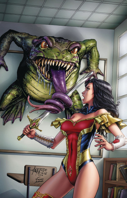 Grimm Fairy Tales #4 (Reyes Cover)