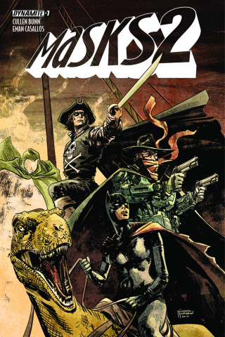 Masks 2 #7 (Subscription Cover)