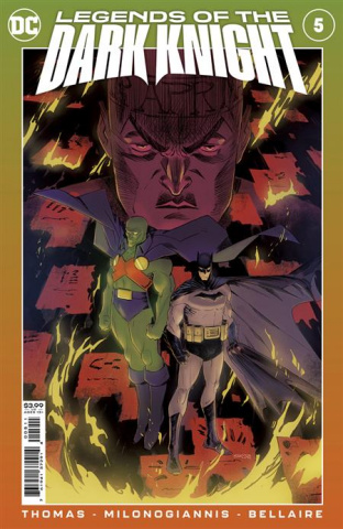 Legends of the Dark Knight #5 (Giannis Milonogiannis Cover)