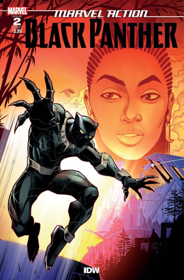 Marvel Action: Black Panther #2 (Samu Cover)