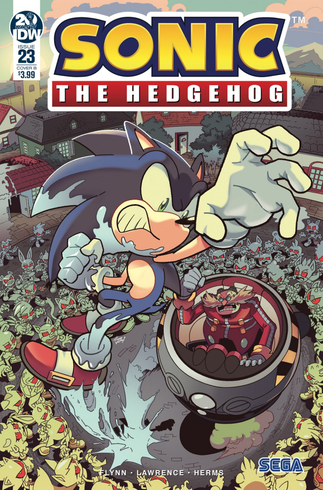 Sonic the Hedgehog #23 (Yardley Cover)