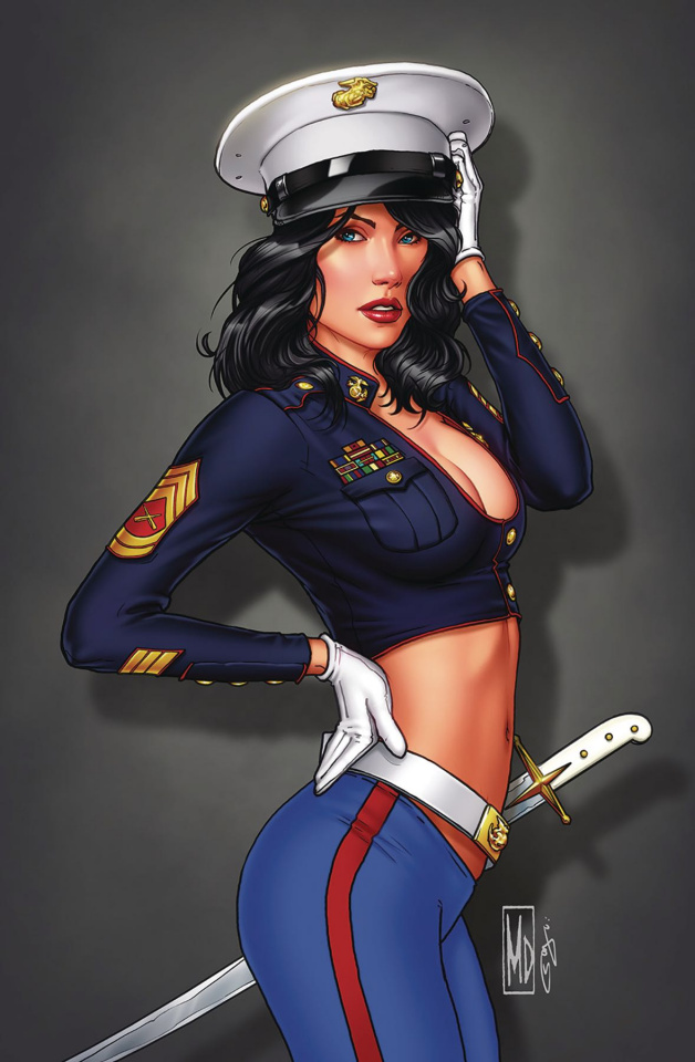Grimm Fairy Tales 2019 Armed Forces Appreciation (Dipascale Cover)