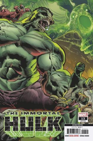 The Immortal Hulk #13 (Bennett 2nd Printing)