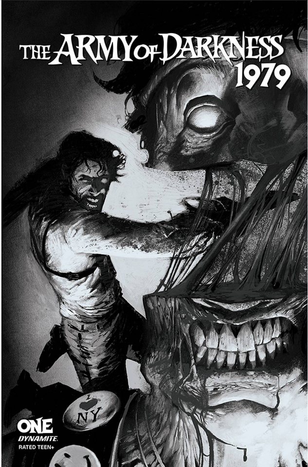 The Army of Darkness: 1979 #1 (25 Copy Alexander B&W Cover)