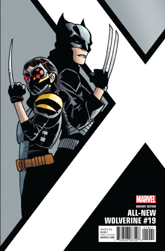All-New Wolverine #19 (Kirk Corner Box Cover)