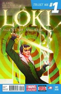 Loki: Agent of Asgard #1 (2nd Printing)