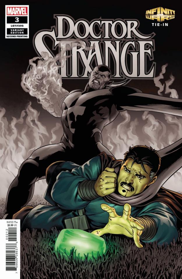 Doctor Strange #3 (Saiz 2nd Printing)