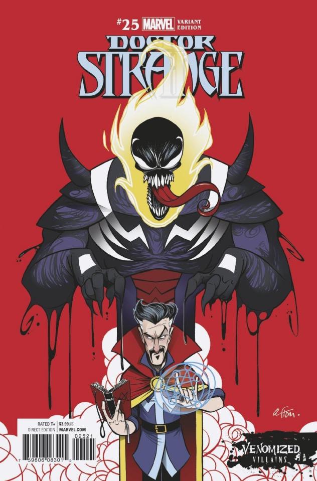 Doctor Strange #25 (Venomized Dormammu Cover)