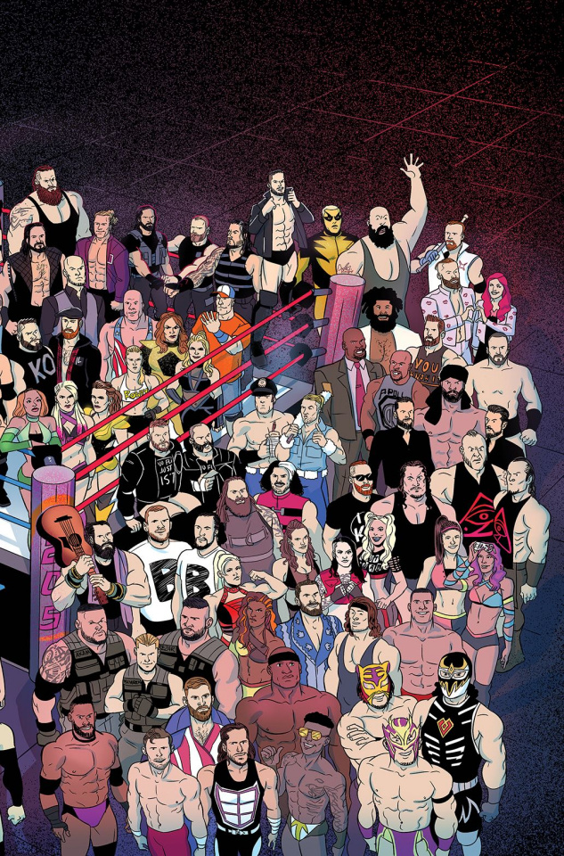 WWE Forever #1 (Preorder Goode Cover)