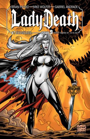 Lady Death #9 (Detroit VIP Cover)