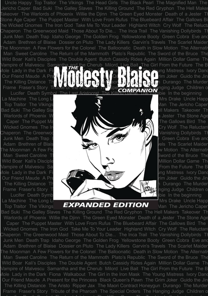 The Modesty Blaise Companion (2nd Printing Expanded Edition)