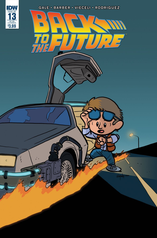 Back to the Future #13 (Subscription Cover)