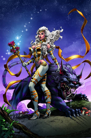 Grimm Fairy Tales: Wonderland #16 (Dooney Cover)