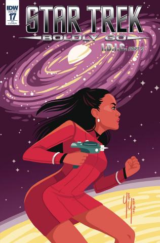 Star Trek: Boldly Go #17 (25 Copy Cover)