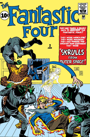 Fantastic Four: The Skrulls #1 (True Believers)