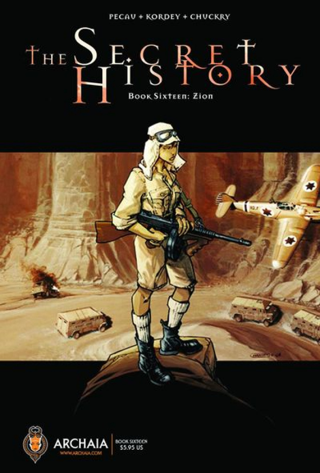 The Secret History Book 16