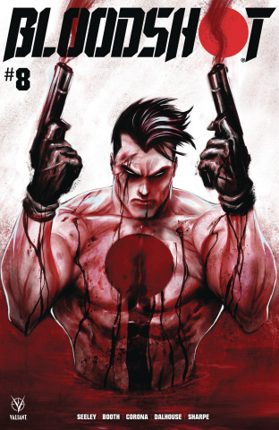 Bloodshot #8 (Kirkham Cover)