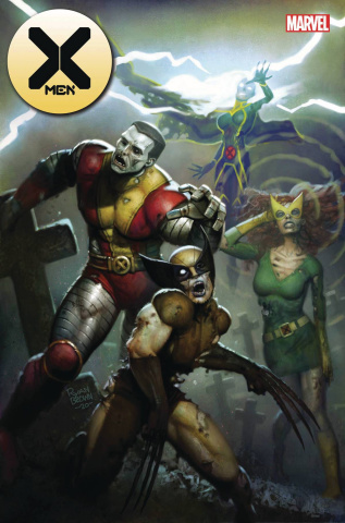 X-Men #10 (Brown Marvel Zombies Cover)
