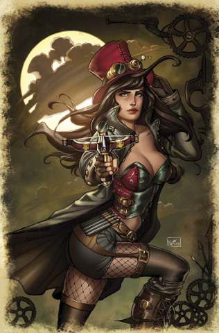 Grimm Fairy Tales: Van Helsing #1 (Ruffino Cover)