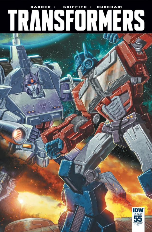 The Transformers #55 (10 Copy Cover)