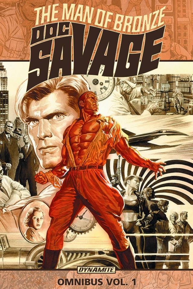 Doc Savage Omnibus Vol. 1