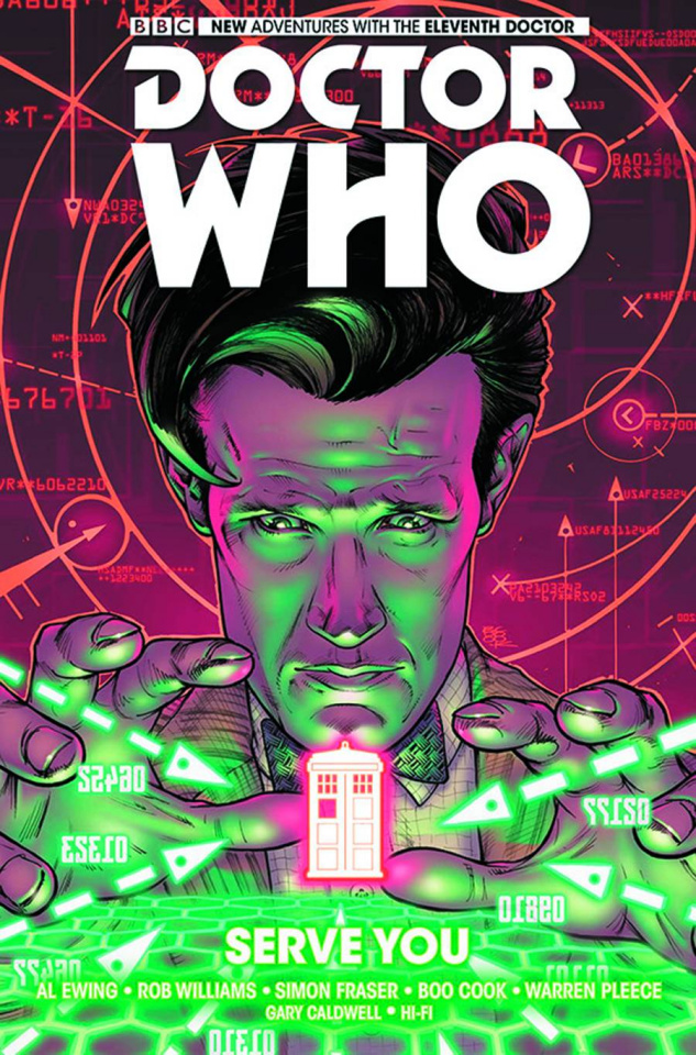 Doctor Who: New Adventures with the Eleventh Doctor Vol. 2: Serve You