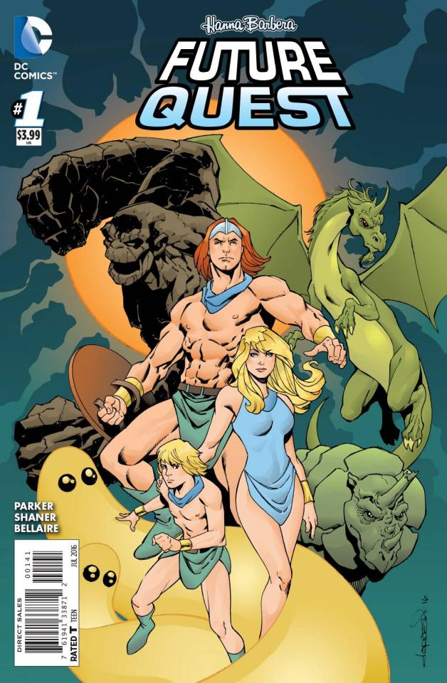 Future Quest #1 (Herculoids Cover)