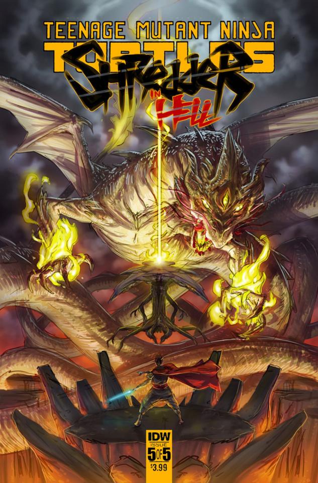 Teenage Mutant Ninja Turtles: Shredder in Hell #5 (Santolouco Cover)