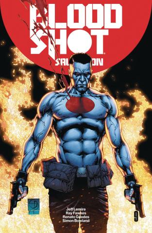 Bloodshot: Salvation #9 (50 Copy Davis Cover)