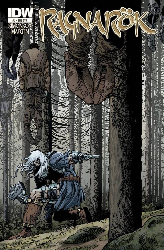 Ragnarök #3 (Subscription Cover)