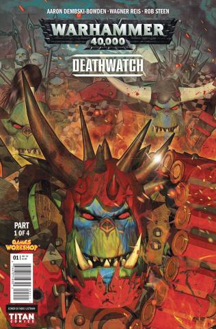 Warhammer 40,000: Deathwatch #1 (Listrani Cover)