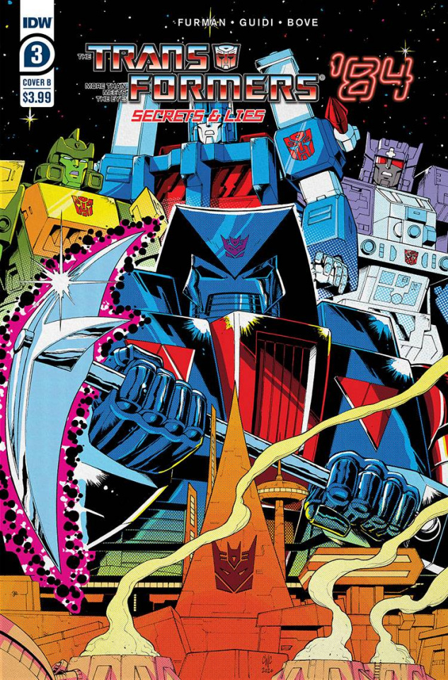 The Transformers '84: Secrets & Lies #3 (Coller Cover)