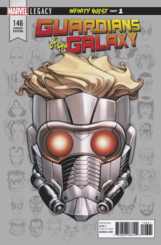 Guardians of the Galaxy #146 (McKone Legacy Headshot Cover)