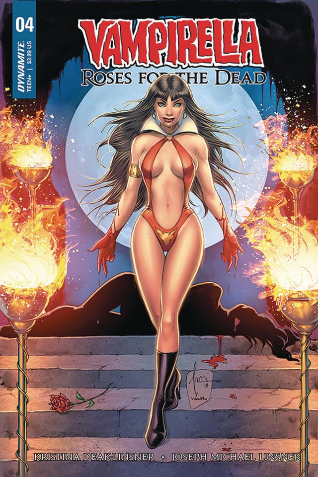 Vampirella: Roses for the Dead #4 (Tucci Cover)