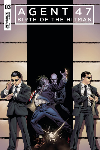 Agent 47: Birth of the Hitman #3 (Lau Cover)