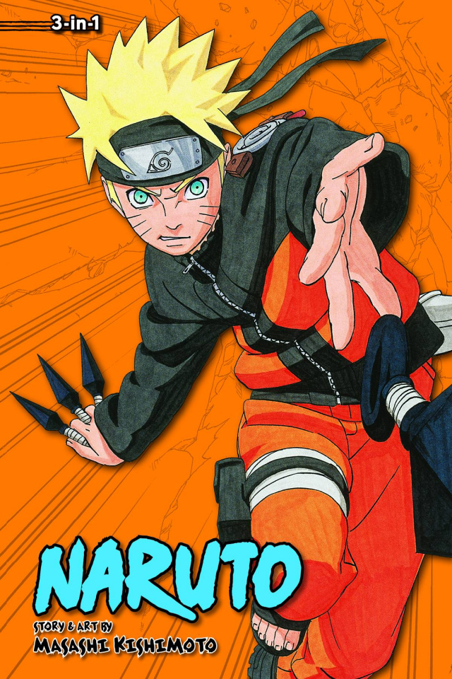 Naruto Vol. 10 (3-in-1)
