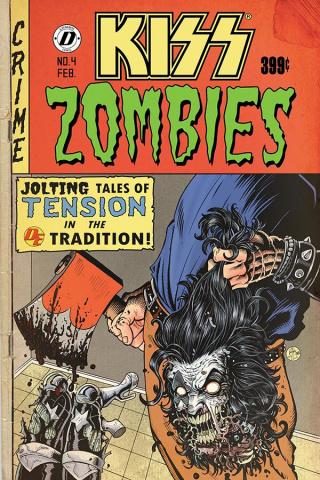 KISS: Zombies #4 (Haeser Bonus Cover)