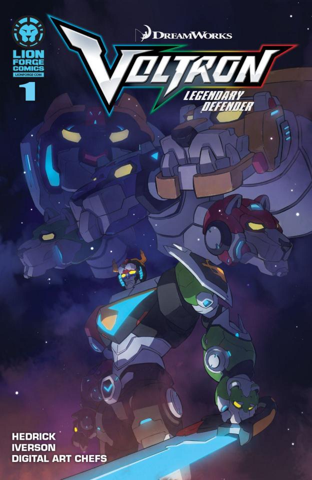Voltron: Legendary Defender #1 (2nd Printing)