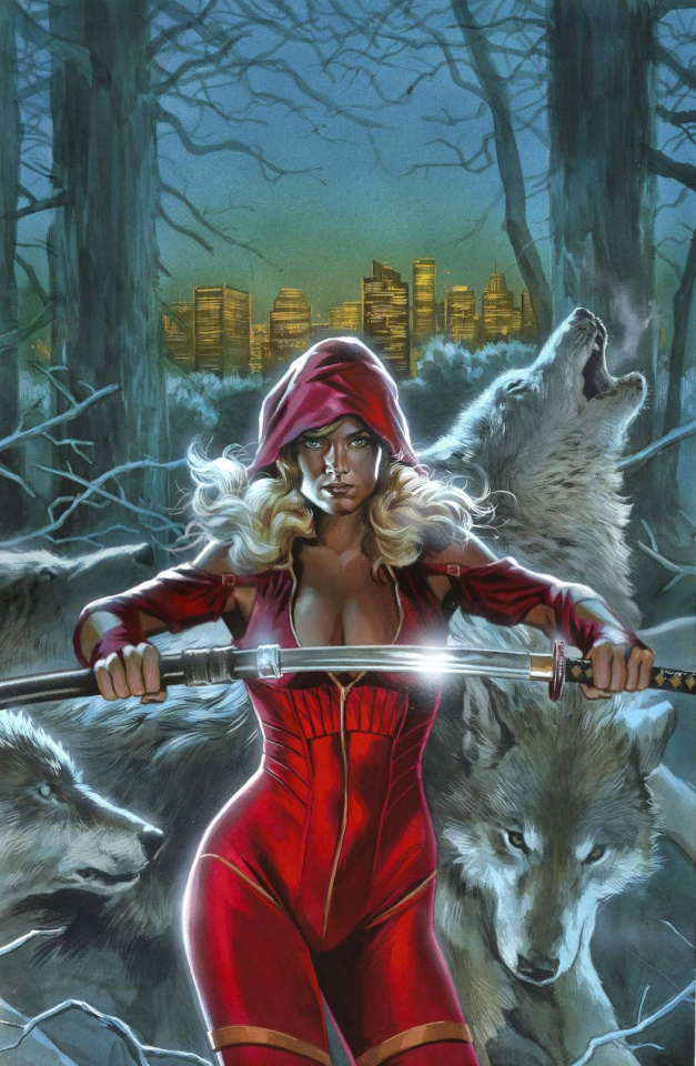 Grimm Fairy Tales: Code Red #5 (Massafera Cover)