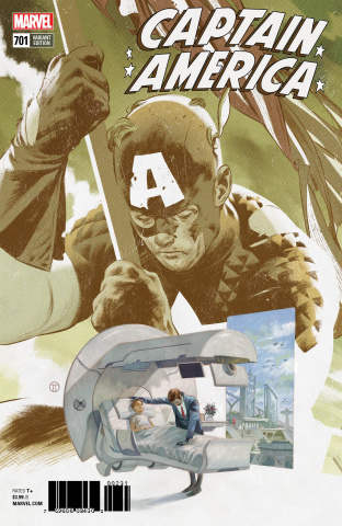 Captain America #701 (Tedesco Connecting Cover)