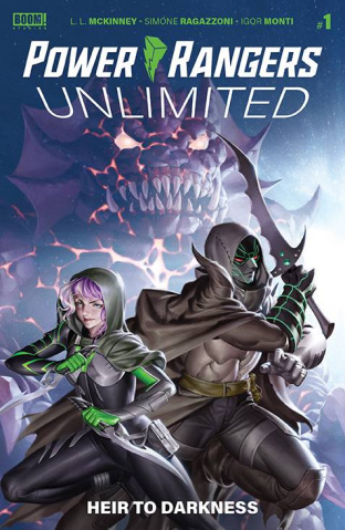 Power Rangers Unlimited: Heir to the Darkness #1 (Connecting Yoo Cover)