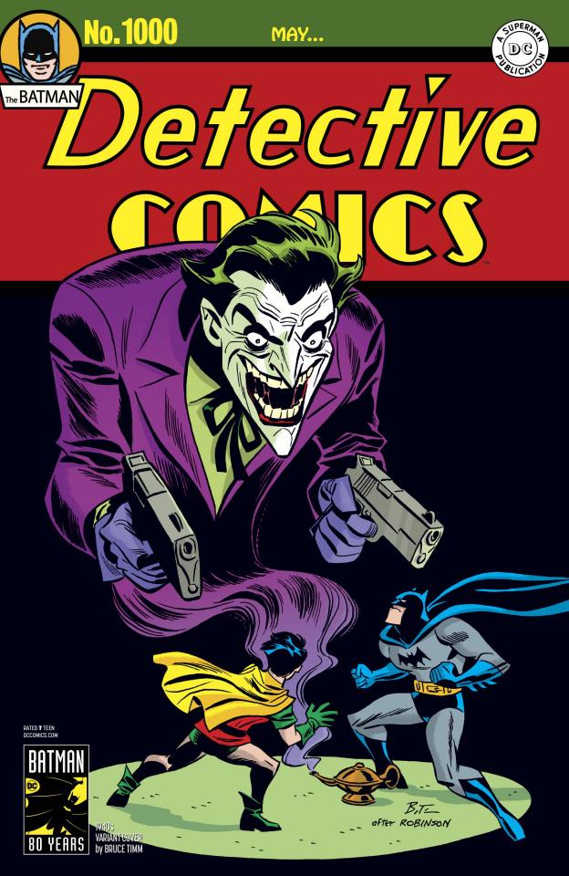 Detective Comics #1000 (1940s Cover)
