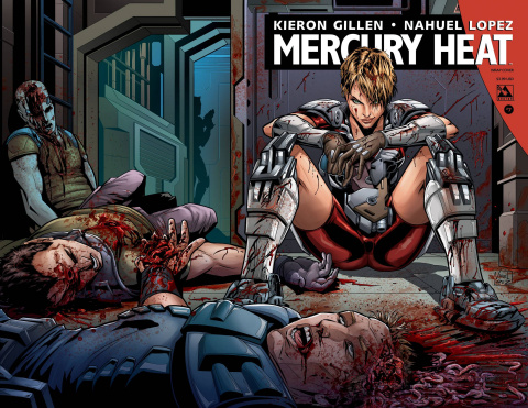 Mercury Heat #7 (Wrap Cover)