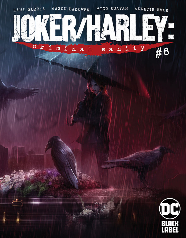 Joker / Harley: Criminal Sanity #6 (Francesco Mattina Cover)