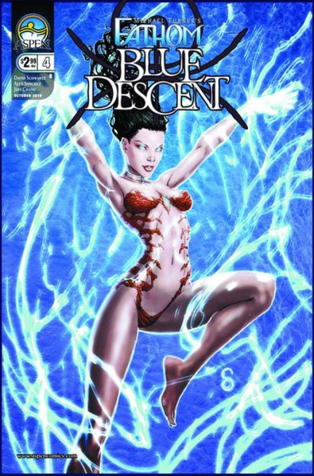 Fathom: Blue Descent #4 (Clark Cover)