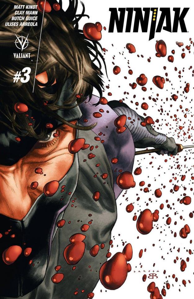 Ninjak #3 (2nd Printing)