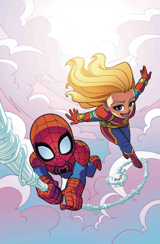 Marvel Superhero Adventures: Captain Marvel's First Day of School #1