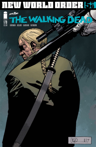 The Walking Dead #179 (Adlard & Stewart Cover)