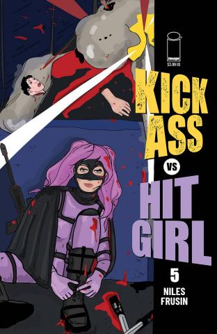 Kick-Ass vs. Hit-Girl #5 (Brooks Millar Cover)