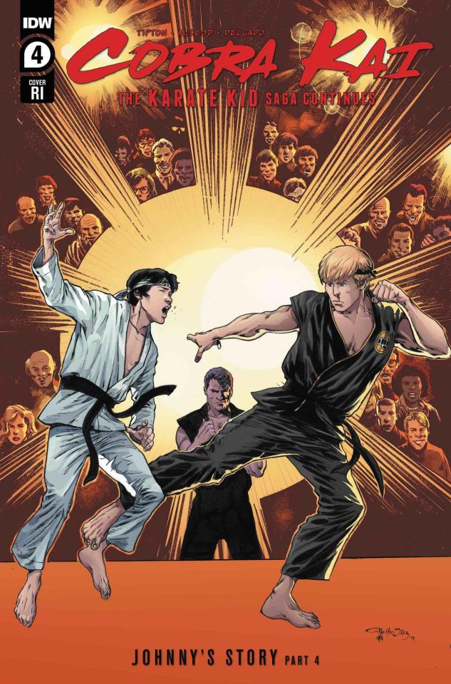 Cobra Kai: The Karate Kid Saga Continues #4 (10 Copy Cover)